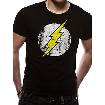 The Flash - Distressed Logo (Unisex)   T-Shirt