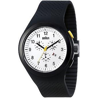 Braun Uhren Herrenuhr Sports BN0115WHBKBKG-66541