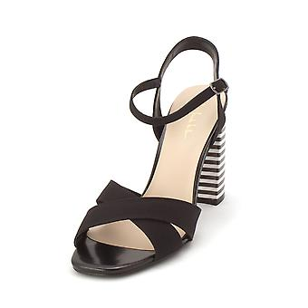Nicole Miller Womens Barbara Open Toe Casual Ankle Strap Sandals