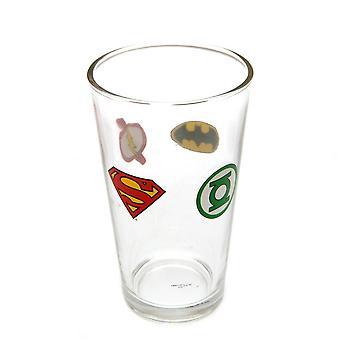 DC Comics officiella stort glas