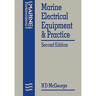 Équipements électriques marins et la pratique (mécanique navale)