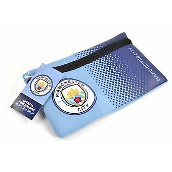 مانشستر سيتي نادي كرة القدم الرسمية تتلاشى تصميم مقلمة