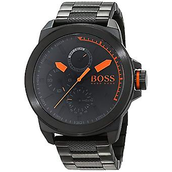 Hugo Boss Orange mens quartz watch 1513157, multi display dial and stainless steel bracelet