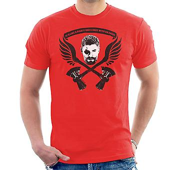 Marvel Avengers Infinity War Thor Pirate Had A Baby With An Angel Men's T-Shirt