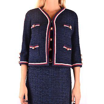 Edward Achour Ezbc121004 Veste de vêtements d'extérieur en polyester bleu