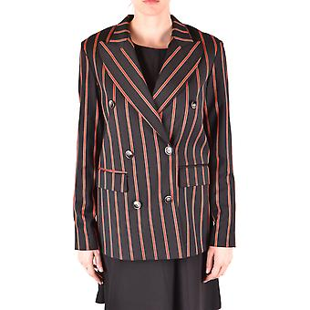 Alysi Ezbc134004 Women's Black Wool Blazer