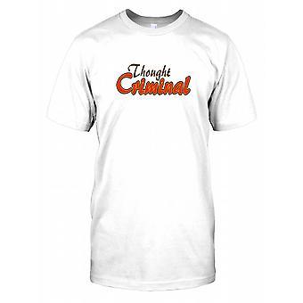 Myśli karnego - 1984 - spisek męskie T Shirt