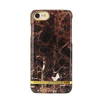 Richmond & Finch shell for iPhone 8/7/SE - Brown Marble
