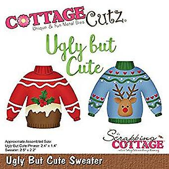 Scrapping Cottage Ugly But Cute Sweater