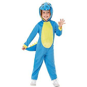 Dino costum Toddlers unisex Carnavalul de animale costum Jumpsuit dinozaur șopârlă T-Rex