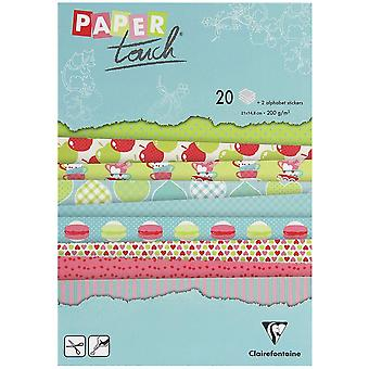 Claire Fontaine Touch Paper Pad Children Memories A5