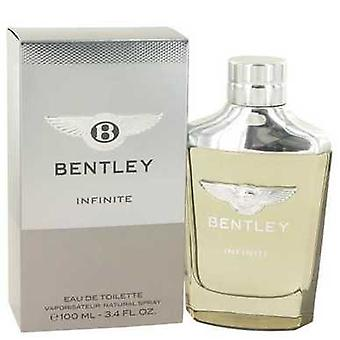 Bentley Бесконечный Bentley Eau De Toilette Spray 3.4 Oz (мужчины) V728-530456