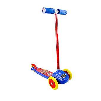 Darpeje Flex scootere med skridsikker dæk/120 mm PVC forhjul og bagbremse