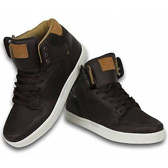 Shoes - Sneaker High - Vintage Choco