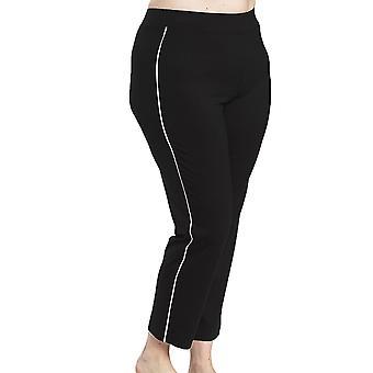 Rosch 1194560-11741 Women's Curve Jet Black Pyjama Pant