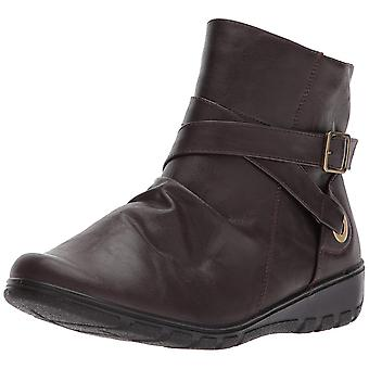 Easy Street Womens Questa Square Toe Ankle Fashion Boots