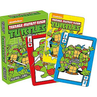 Teenage Mutant Ninja Turtles Spielkarten