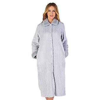 Slenderella HC4336 mulheres ' s housecoats vestido de vestir