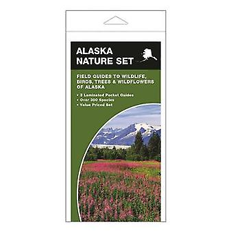 Alaska Nature Set - Field Guides to Wildlife - Birds - Trees & Wildflo