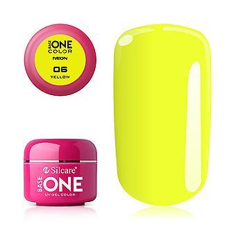 Base one - Neon - Yellow 5g UV-gel