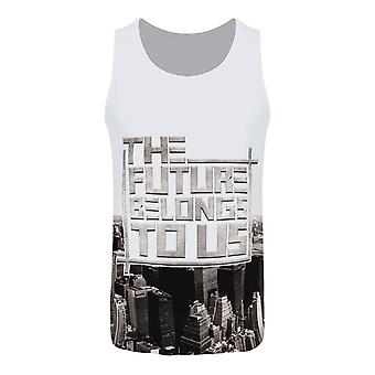 Grindstore Mens The Future Belongs To Us Sub Vest