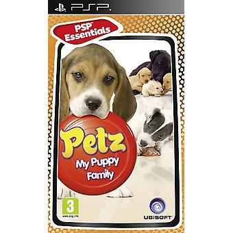 PSP Essentials Petz My Puppy Family (PSP) - Uusi