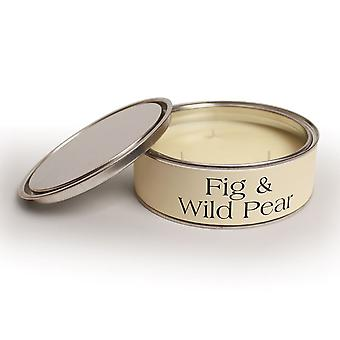 Pintail Candles Large 3 Wick Scented Candle Tin - Fig & Wild Pear