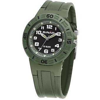 SINAR mládež Sledujte deti náramkové hodinky Analog Quartz guma XB-20-13