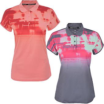 adidas Performance Womens Disrupt Short Sleeve Badminton Sports Polo Shirt Top