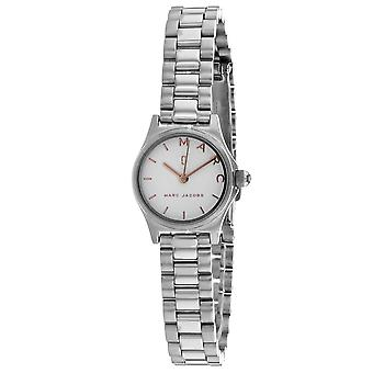 Marc Jacobs Women's Henry White Dial Watch - MJ3586