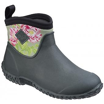Muck Boots Muckster Ii Ankle Rhs Ladies Boots Green/rosa Gallica