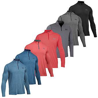 Under Armour Mens Threadborne Adatto a 1/4 di pullover zip
