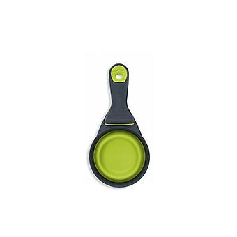 Popware Collapsible Klipscoop Measuring Cup, Green