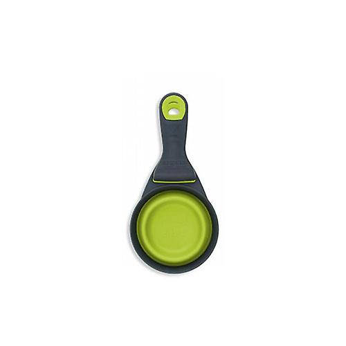 Popware Collapsible Klipscoop Measuring Cup, Green