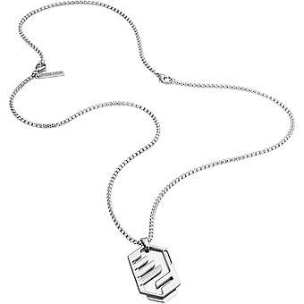 Police Men's Stainless Steel Pendant Necklace S14ANE12P