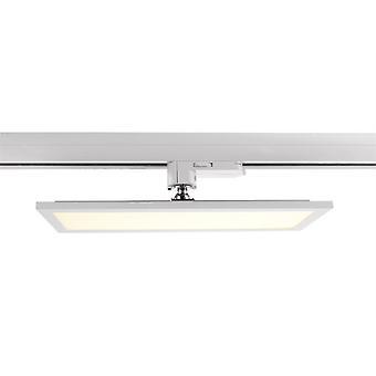 3-fazowy panel reflektorów szyn Track Light 20W 3000K 115° biały