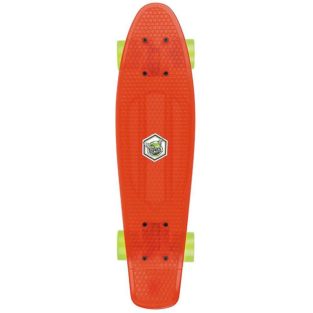 Osprey Retro Plastic Skateboard Red
