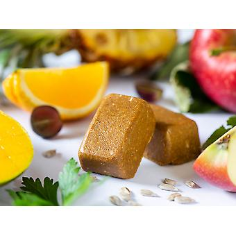 Swiss-QUBE Diet Bar - Kontrola wagi | Schudnąć bez głodu na podstawie naturalnej | Smak owocowy | 70 Swiss-Qubes - Cotygodniowa racja