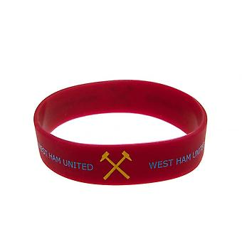 West Ham United FC Official Silicone Wristband