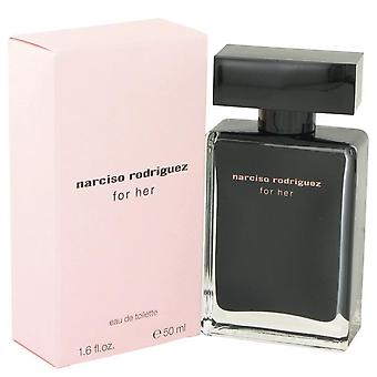 Narciso rodriguez eau de toilette spray by narciso rodriguez 420249 50 ml