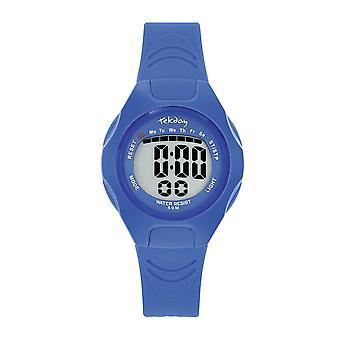 Tekday 654664 Watch - Silicone Blue Box Bracelet Silicone Blue