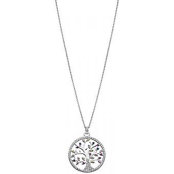 Lotus Silver Tree Of Life LP1896-1-1 Necklace and Pendant