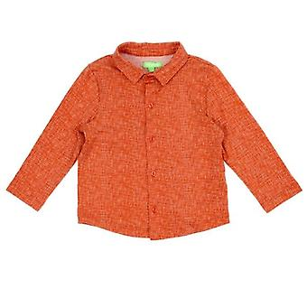 Lily Balou shirt Lucas Texture Red