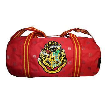 Harry Potter Girls-Boys Hogwarts School Barrell Bag - 15L