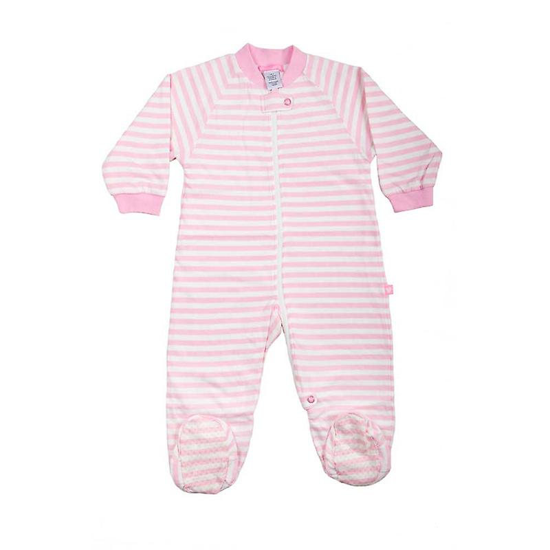 uh-oh! Baby Sleeping Bag with Legs 1.0 tog Warmth Rating Pink Stripe
