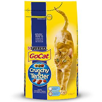 Go-Cat Crunchy Tender Salmon Tuna And Veg Complete Dry Cat Food