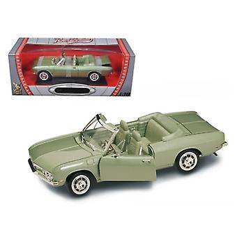 1969 Chevrolet Corvair Monza Green 1/18 Diecast Model Car by Road Signature