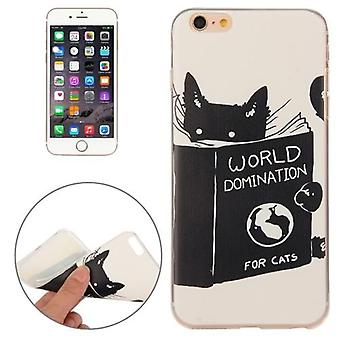 Para iPhone 6S PLUS, 6 PLUS Case, Cats World Domination Durable Protective Cover