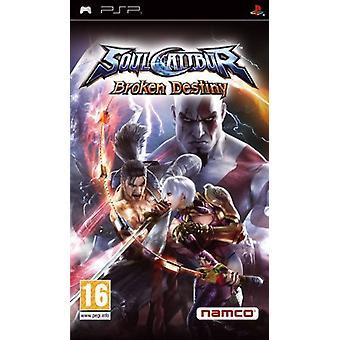 Soulcalibur Broken Destiny (PSP) - Nieuw