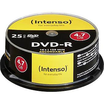 Intenso 4101154 tom DVD-R 4,7 GB 25 PC (er) spindel